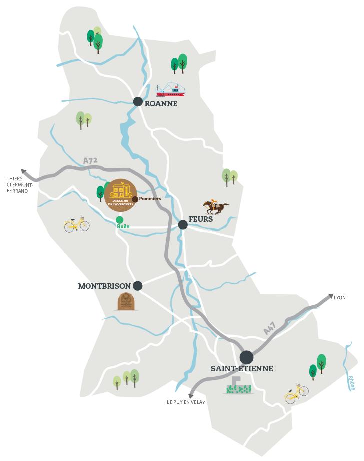 Domaine de La Verchère Pommiers